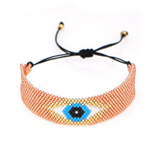 Load image into Gallery viewer, Turkish Evil Eye Handmade Armband