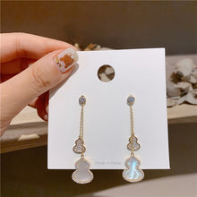 Load image into Gallery viewer, Long Droplet Earrings