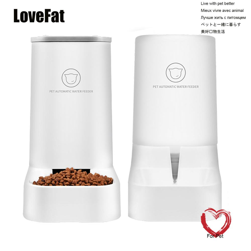 Lovefat Pet Automatic Water Feeder Set