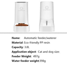 Load image into Gallery viewer, Lovefat Pet Automatic Water Feeder Set