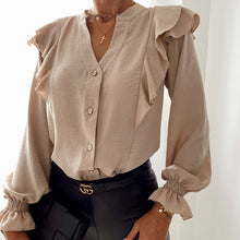Load image into Gallery viewer, Chic Ruffle Blouse