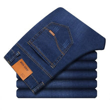 Load image into Gallery viewer, Men's Business Casual Denim Jeans