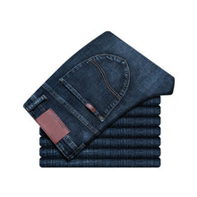 Load image into Gallery viewer, Men's Regular Style Denim Jeans