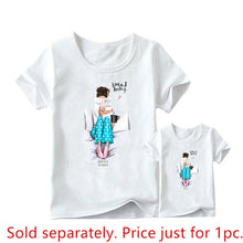 Load image into Gallery viewer, Mother Daughter Graphic T-shirts