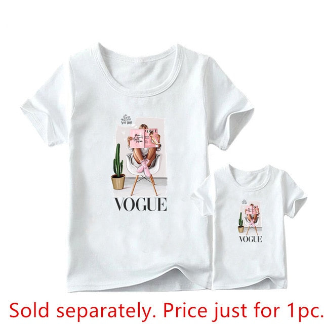 Mother Daughter Graphic T-shirts
