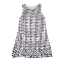 Load image into Gallery viewer, Baby Girls Tweed Two Piece Dress
