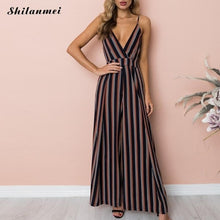 Load image into Gallery viewer, Summer Sleeveless Jumpsuit