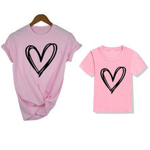 Load image into Gallery viewer, Hearts Mommy and Me Shirts