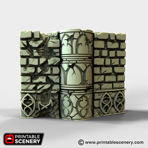 Elven Groves Hinged Wall