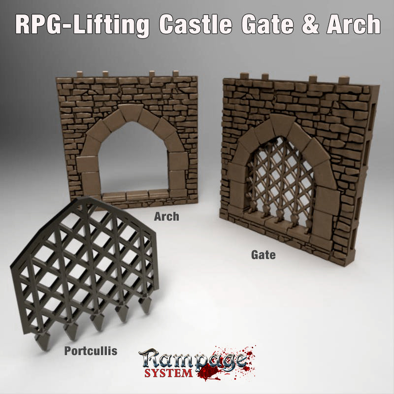 Lifting Castle Gates & Arch