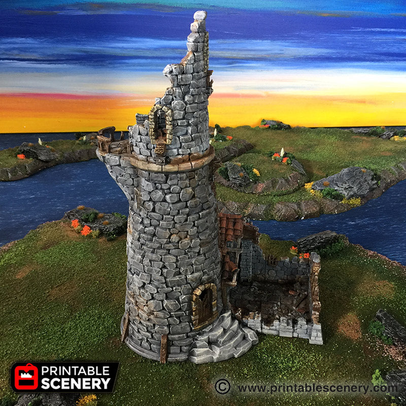 Ruined Lighthouse