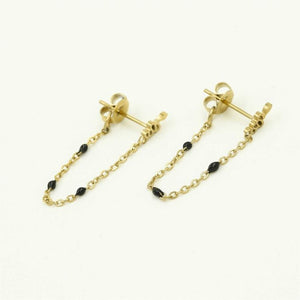 Snake chain earrings - Acazia