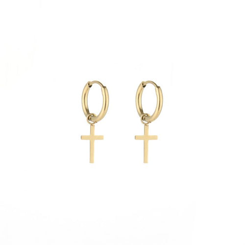 Cross earrings - Acazia