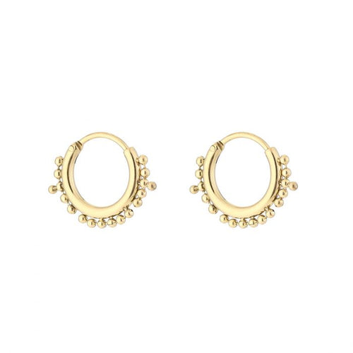 Creool dots earrings - Acazia