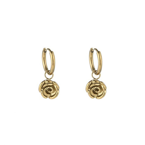 Little rose earrings - Acazia