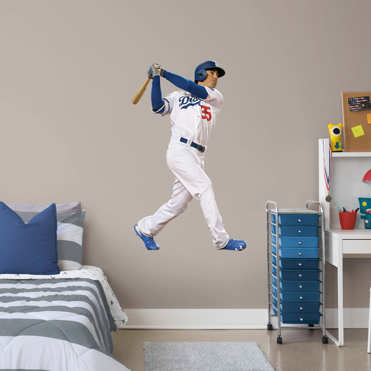 Cody Bellinger Officially Licensed Mlb Removable Wall