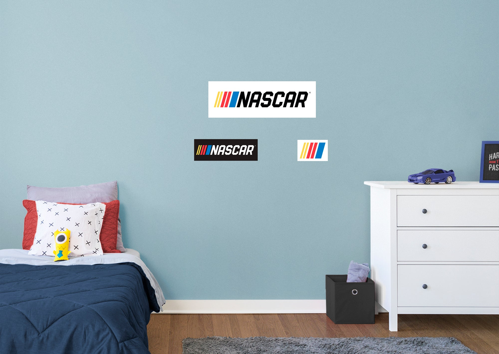 2021 Bar Logo - Officially Licensed NASCAR Removable Wall Decal XL by Fathead   Vinyl