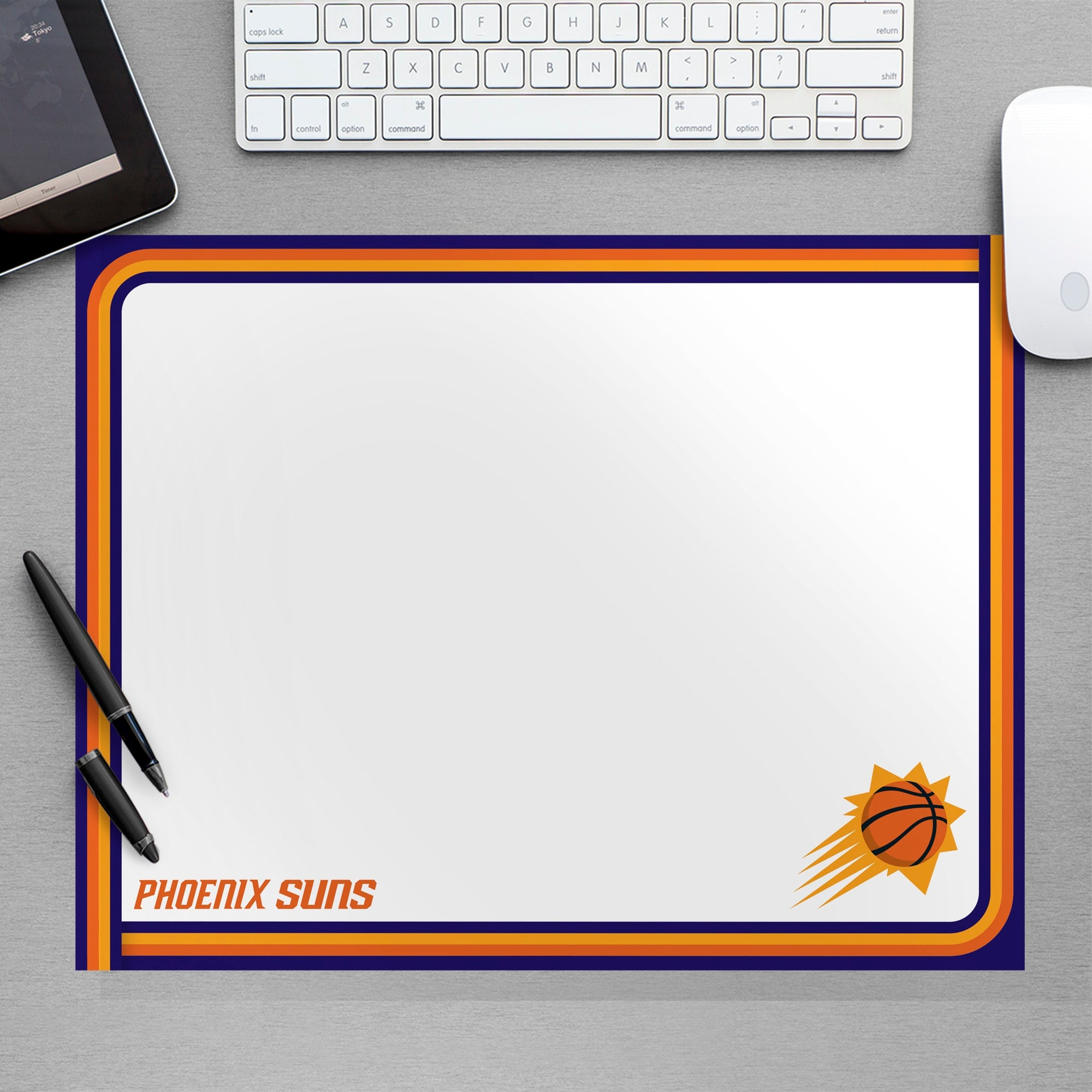 Phoenix Suns for Phoenix Suns: Dry Erase Whiteboard - Officially Licensed NBA Removable Wall Decal Large by Fathead   Vinyl