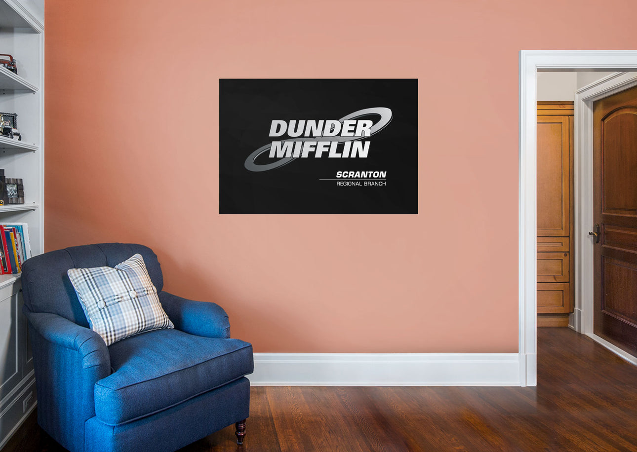 The Office: DM Branch Logo Mural - Officially Licensed NBC ...