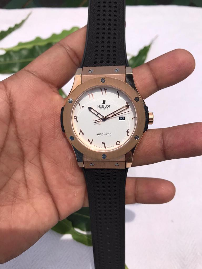 Hublot Classic Fusion White Dial Arabic Numerals Swiss Automatic Watch