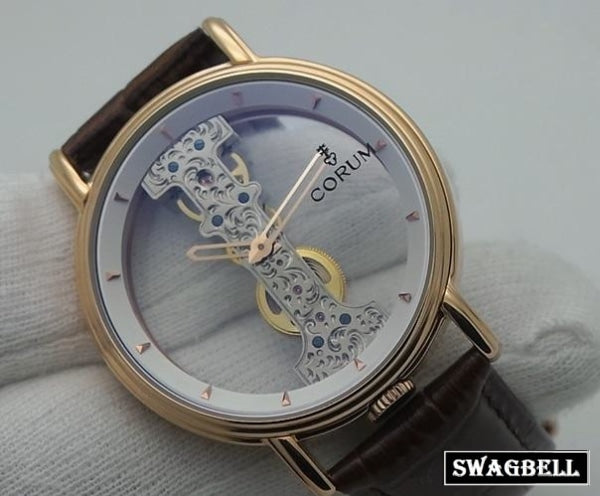 Corum Golden Bridge White Round Swiss Automatic Watch