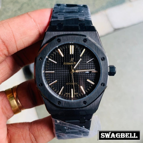 AUDEMARS PIGUET ROYAL OAK FULL BLACK WATCH