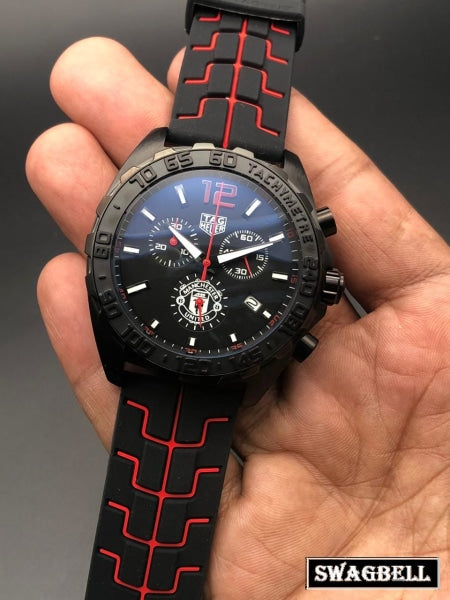 Tag Heuer Ayrton Senna Black Dial Watch