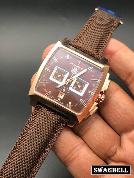 Tag Heuer Monaco Brown Watch