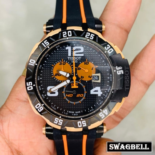 TISSOT T RACE TOM LUTHI ORANGE EDITION WATCH