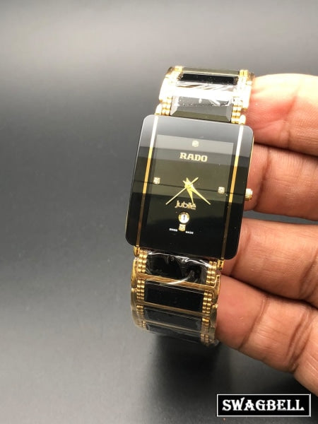 RADO INTEGRAL JUBILE BLACK CERAMIC WATCH