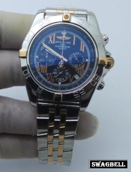 Breitling Chronomat Dual Tone Mens Watch - 2