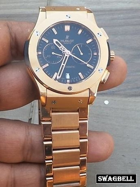 Hublot Classic Rose Gold Mens Watch