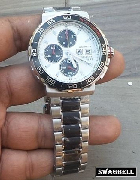 Tag Heuer Formula 1 White Mens Watch