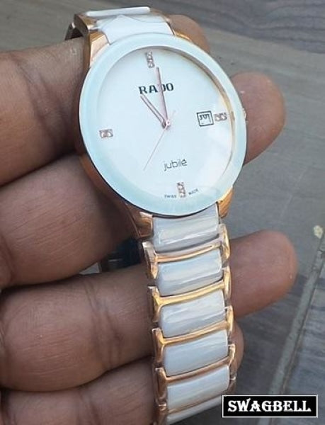 Rado Jubile White Ceramic Watch