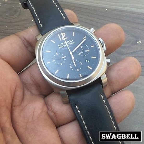 Panerai DAYLIGHT Chronograph Swiss ETA 2250 Valjoux Movement Watch