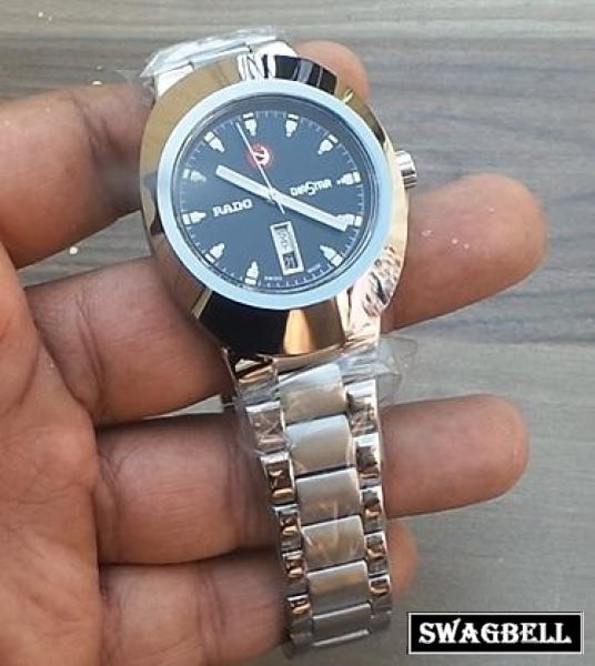 Rado Diastar Steel Swiss Eta Automatic Watch