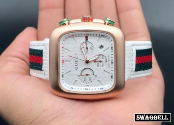 Gucci White Mens Watch