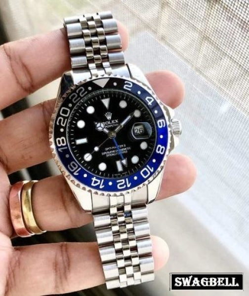 Rolex Gmt Pepsi Edition Swiss Automatic Watch
