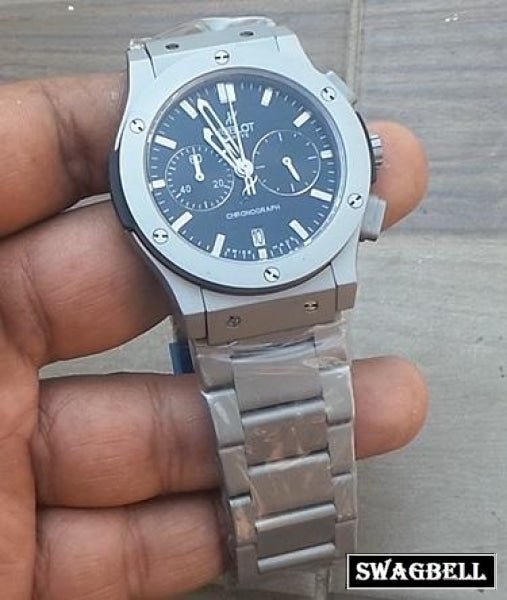 HUBLOT CLASSIC STEEL MEN'S WATCH