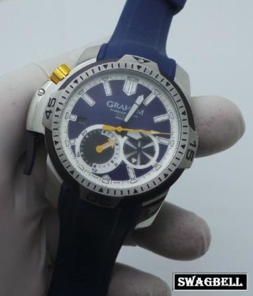 Graham Professional Blue Swiss Automatic Watch