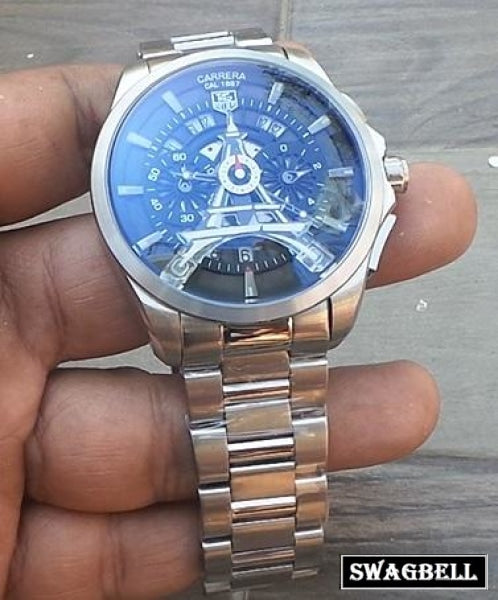 Tag Heuer Eiffel Tower Steel Mens Watch