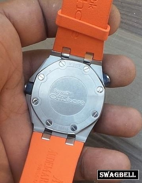 Audemars Piguet Royal Oak Diver Orange Swiss Automatic Watch