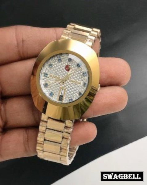 RADO DIASTAR GOLDEN SWISS AUTOMATIC WATCH