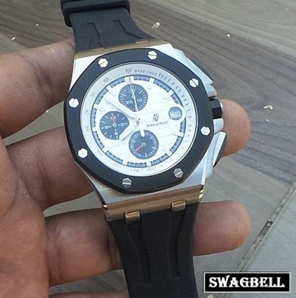 Audemars Piguet Royal Oak Offshore White Steel Watch