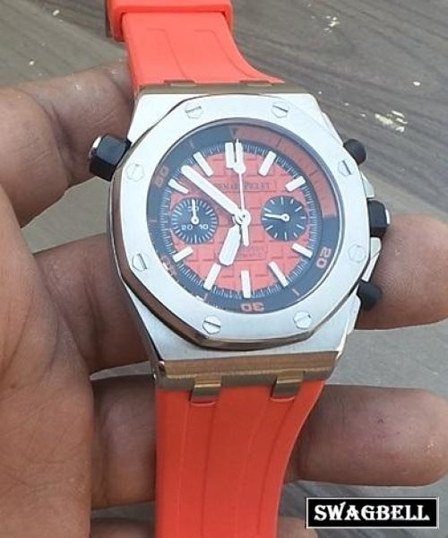 Audemars Piguet Diver Red Mens Watch