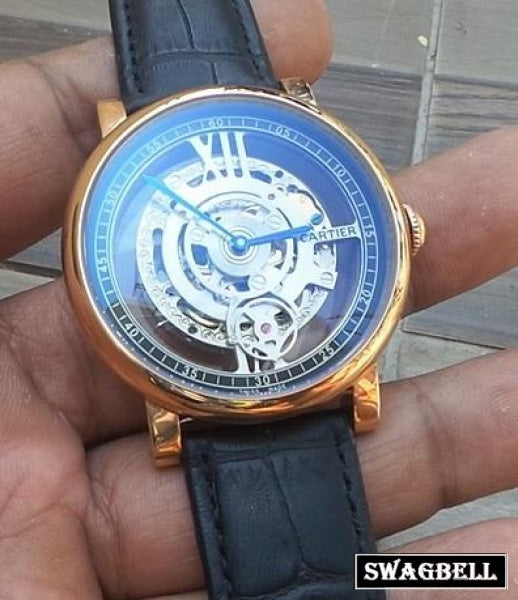 Cartier Astrotourbillon Skeleton Swiss Automatic Watch