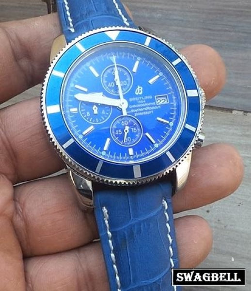 Breitling Superocean Blue Men's Watch Watch