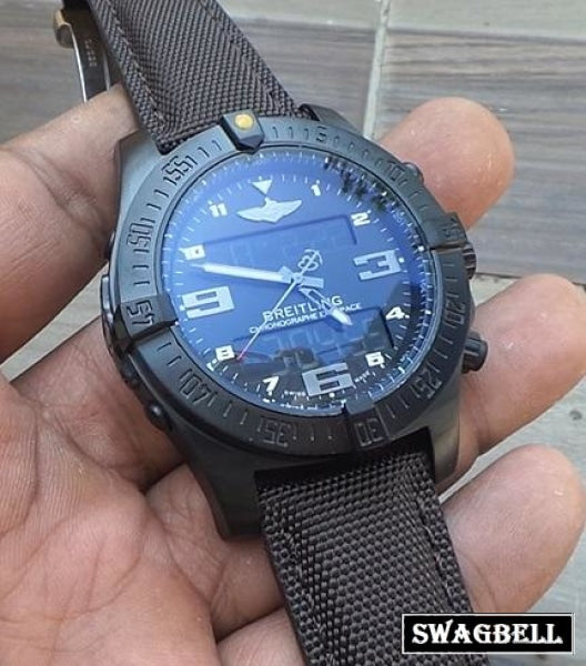 Breitling Aerospace Full Black Mens Watch