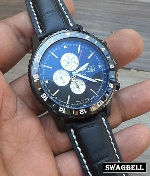 Breitling Chronoliner Full Black Mens Watch