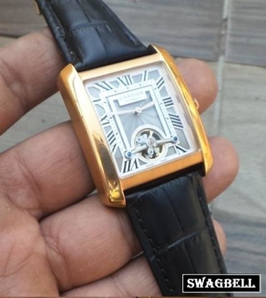 Cartier Tank Tourbillon Swiss Automatic Watch